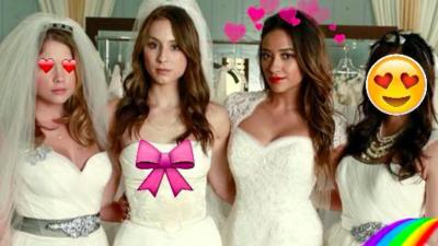Pretty Little Liars : il n'y aura pas un mais deux mariages d'ici le final !