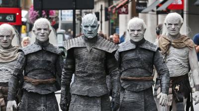 Game of Thrones : les White Walkers envahissent Londres !