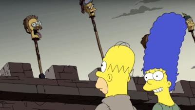 Les Simpson saison 29 : la famille parodie «Game of Thrones» pour leur grand retour !