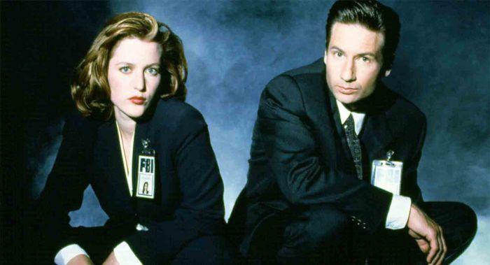 Gillian Anderson et David Duchovny - X-Files