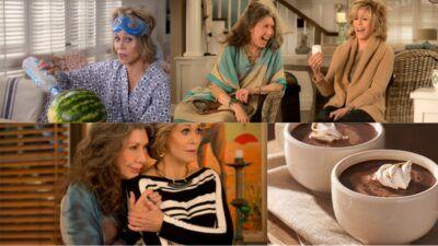 Take a cup of tea avec Grace & Frankie et découvre où tu seras dans 30 ans