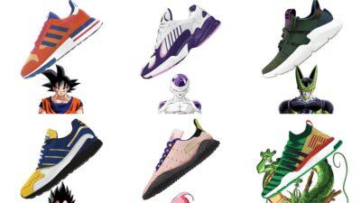 Dragon Ball Z : découvrez les baskets Adidas spéciales Son Goku, Vegeta, Freezer…