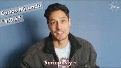 Interview de Carlos Miranda pour Vida, la nouvelle série choc de Starz