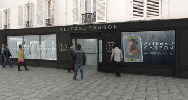Altered Carbon à la Galerie Wanted à Paris