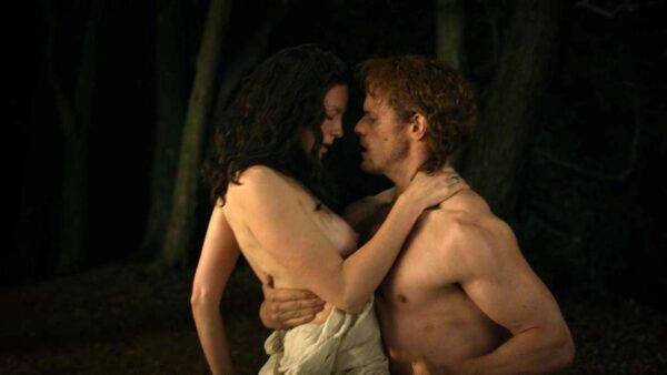 outlander sexe scenes