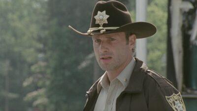 The Walking Dead : les adieux émouvants d'Andrew Lincoln à Rick