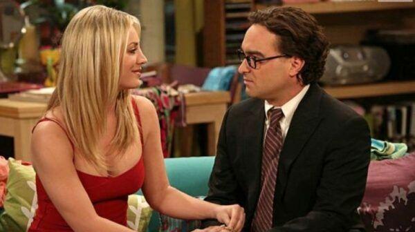 Penny et Leonard The Big Bang Theory