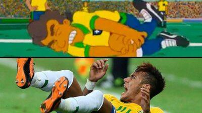 Comment Les Simpson ont prédit l'attitude de Neymar à la Coupe du Monde 2018