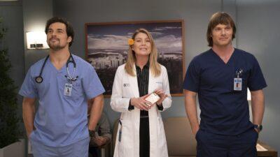 Grey's Anatomy saison 15 : Meredith va-t-elle choisir DeLuca ? Les premières images