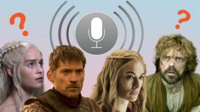 Game of Thrones : 8 des meilleures blagues de SIRI quand on lui parle de la série