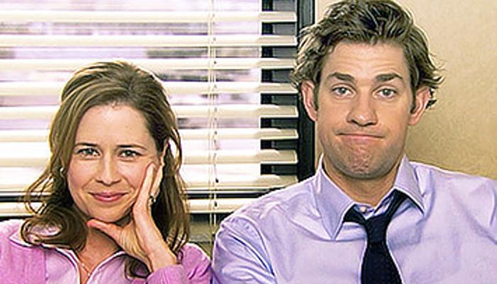John Krasinski et Jenna Fischer - The Office