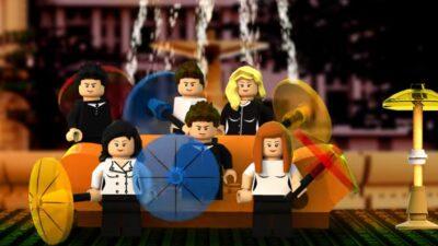 Friends : le Central Perk va voir le jour en Lego