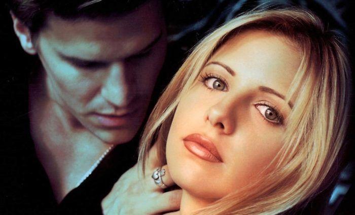 Sarah Michelle Gellar et David Boreanaz - Buffy contre les Vampires
