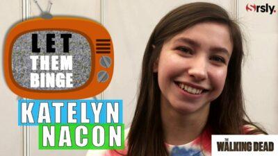 The Walking Dead : Katelyn Nacon (Enid) parle de sa journée binge-watching parfaite