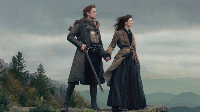 Caitriona Balfe et Sam Heughan - Outlander