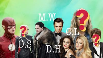 Quiz : sauras-tu deviner de quelle série il s'agit grâce aux initiales des personnages ?