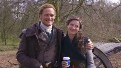 Outlander : Sam Heughan et Caitriona Balfe offrent un premier aperçu de la saison 5