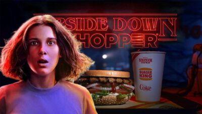 Stranger Things : découvrez le menu Upside Down de Burger King