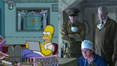 Ce détail qui lie la série Chernobyl et Les Simpson