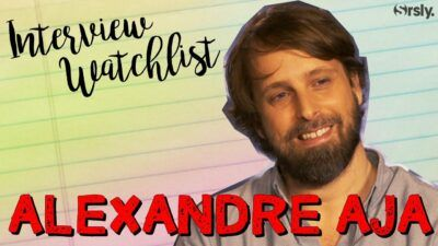 Crawl : notre interview watchlist séries d'Alexandre Aja, maître de l'horreur