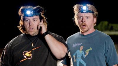 Simon Pegg et Nick Frost se retrouvent pour une série surnaturelle sur Amazon Prime Video