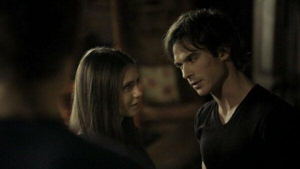 the vampire diaries, 1x02, delena