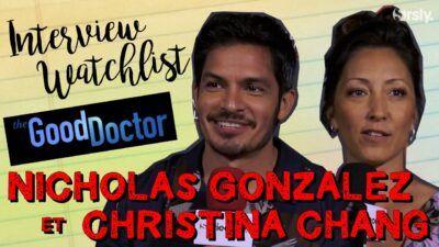 The Good Doctor : notre interview watchlist de Nicholas Gonzalez et Christina Chang