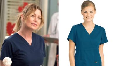 Alerte ! A vous la véritable blouse de médecin de Meredith (Grey's Anatomy)