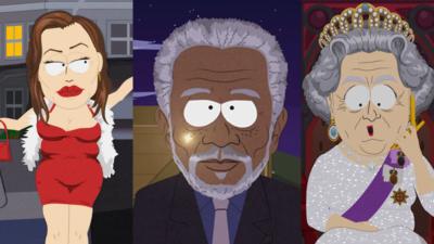 20 célébrités (parmi tant d'autres) qui se sont rendues à South Park
