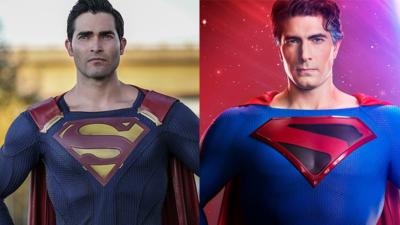 Tyler Hoechlin et Brandon Routh enfilent leur costume de Superman pour une photo inédite