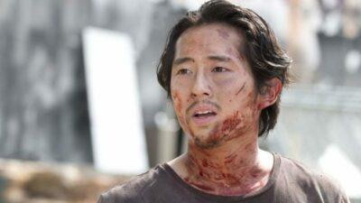 The Walking Dead : Steven Yeun voulait CE message inscrit sur la tombe de Glenn
