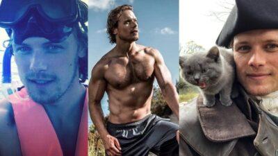 Top ridicule mais assumé des photos sexy de Sam Heughan (Outlander)