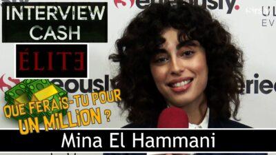 Elite : Mina El Hammani (Nadia) répond à notre interview CASH