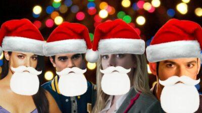 Quiz : devineras-tu quel perso emblématique de séries se cache sous le bonnet de Père Noël ?