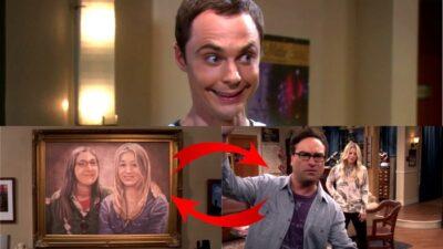 The Big Bang Theory : qui avait remarqué cette grosse erreur sur le tableau d'Amy et Penny ?