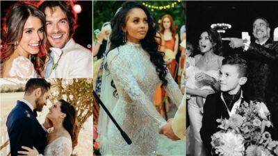 Les 10 plus belles photos de mariage de stars de séries