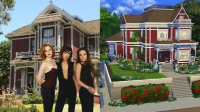 Minute Cool : une YouTubeuse reproduit le manoir de Charmed dans les Sims 4