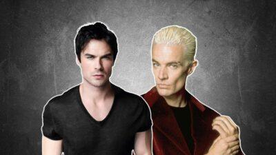 Tes séries pref te diront qui de Damon de The Vampire Diaries ou de Spike de Buffy est fait pour toi
