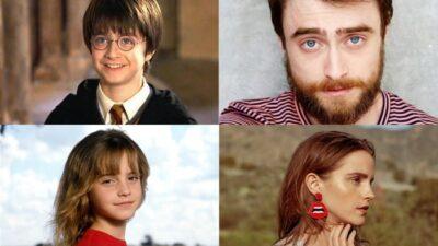 Harry Potter : les acteurs dans le premier film vs aujourd'hui