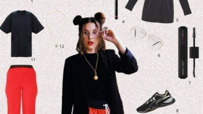 Minute mode : adopte le look de Millie Bobby Brown (Stranger Things)