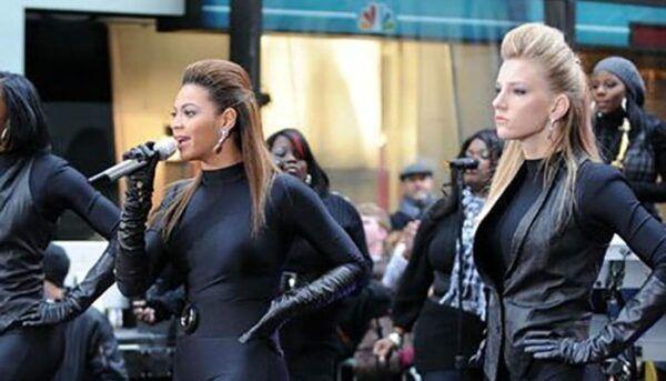 Heather Morris Glee Beyoncé