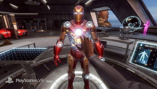 Iron Man Marvel VR