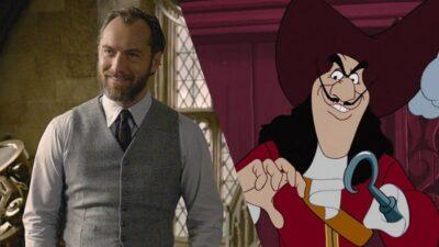 Disney : Jude Law en Capitaine Crochet dans le nouveau film Peter Pan ?
