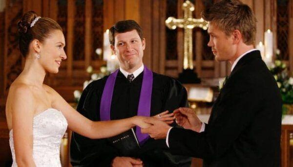 Lucas et Lindsey mariage