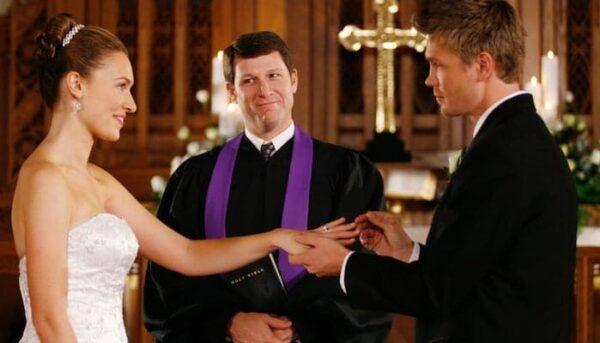 Mariage Lucas et Lindsey Les Frères Scott