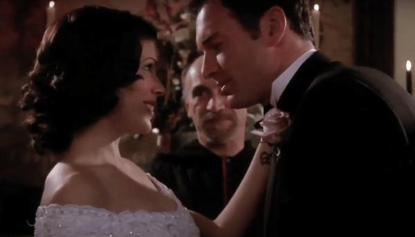 Phoebe et Cole mariage