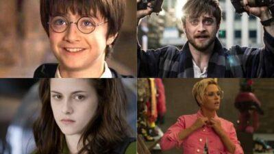 Harry Potter, Twilight…11 avant/après des héros de teen sagas