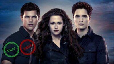 Twilight : impossible d'avoir 10/10 à ce quiz vrai ou faux sur la saga