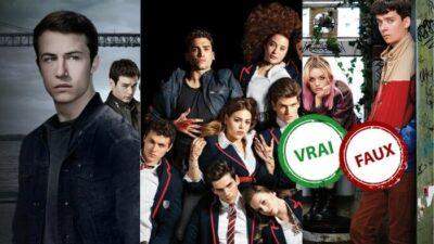 Seul un fan ultime de teen séries Netflix aura 10/10 à ce quiz vrai ou faux