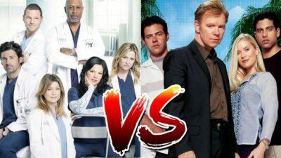 Sondage : le match ultime, tu préfères les séries médicales ou policières ?
